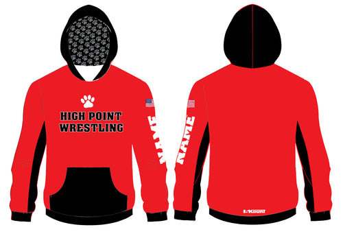 High Point HS wrestling Sublimated Hoodie