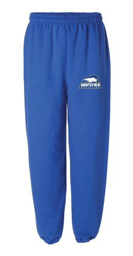 Hofstra Wrestling Cotton Sweatpants - Royal - 5KounT2018