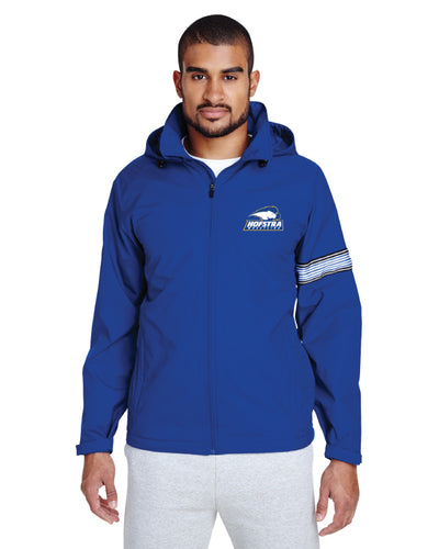 Hofstra Wrestling All Season Hooded Jacket - Royal - 5KounT2018