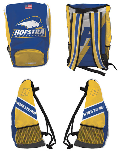 Hofstra Wrestling Sublimated Backpack - 5KounT2018
