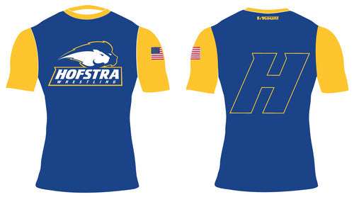 Hofstra Wrestling Sublimated Compression Shirt - 5KounT2018