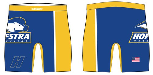 Hofstra Wrestling Sublimated Compression Shorts - 5KounT2018