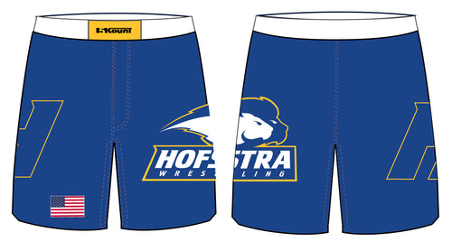 Hofstra Wrestling Sublimated Fight Shorts - 5KounT2018