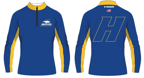 Hofstra Wrestling Sublimated Quarter Zip - 5KounT2018