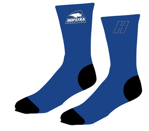 Hofstra Wrestling Sublimated Socks - 5KounT2018