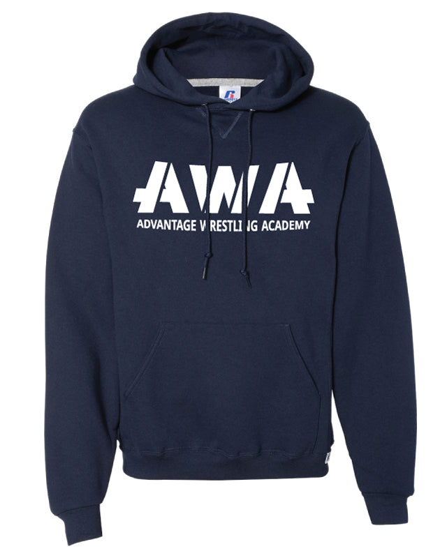 AWA Russell Athletic Cotton Hoodie - Navy