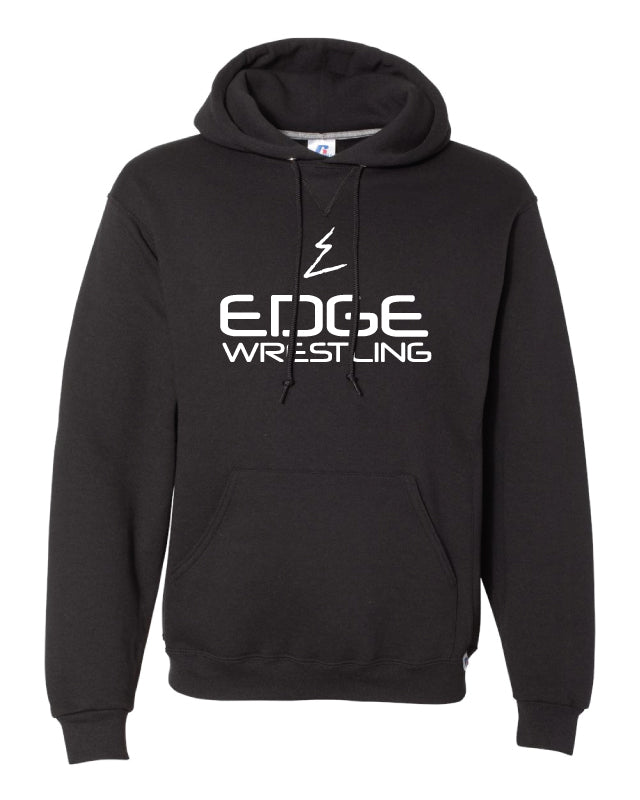 Edge Wrestling Russell Athletic Cotton Hoodie - Black