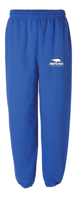 Hofstra Softball Cotton Sweatpants - Royal - 5KounT2018