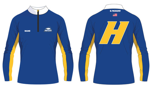 Hofstra Softball Sublimated Quarter Zip