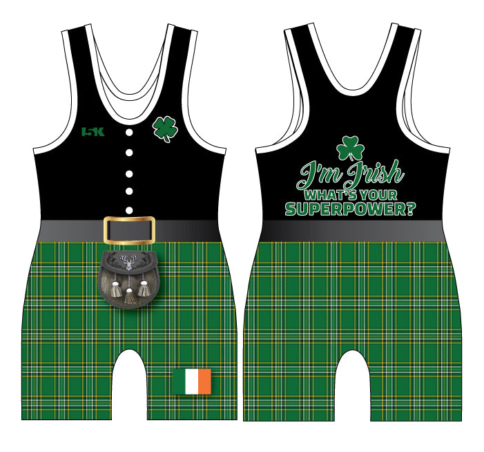 Irish Kilt Sublimated Singlet - 5KounT2018