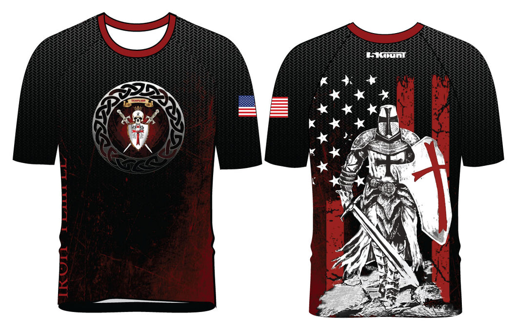 Iron Temple Wrestling Sublimated Fight Shirt - 5KounT