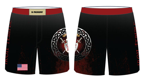 Iron Temple Wrestling Sublimated Fight Shorts