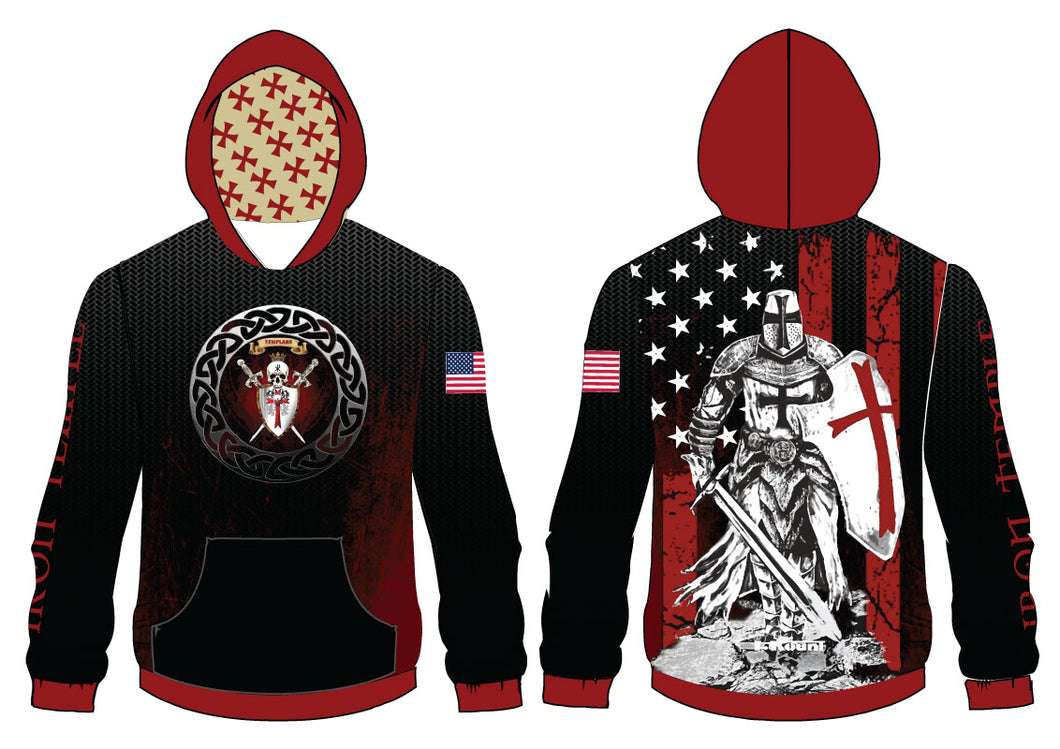 Iron Temple Wrestling Sublimated Hoodie - 5KounT