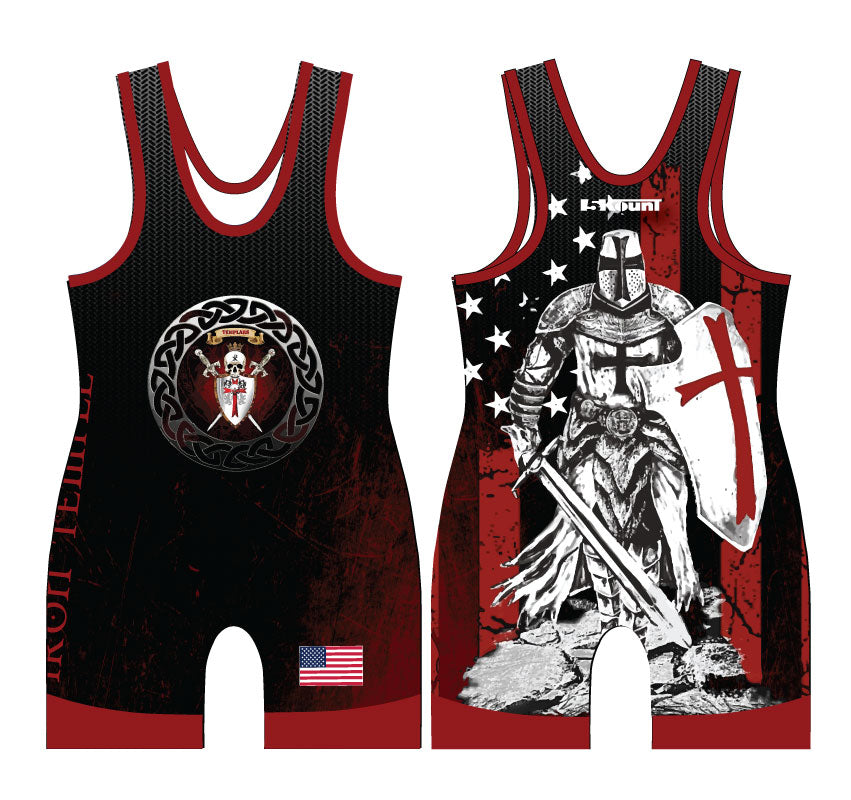 Iron Temple Wrestling Sublimated Singlet
