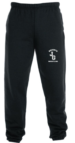 John Glenn Wrestling Cotton Sweatpants - 5KounT2018
