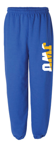 JWU Cotton Sweatpants - Royal - 5KounT