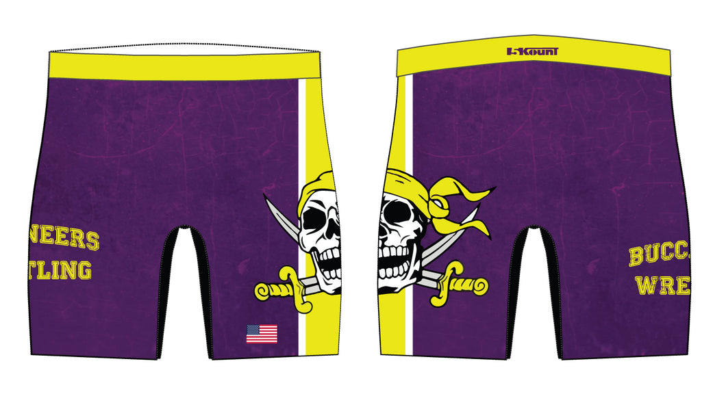 Jack Britt HS Wrestling Sublimated Compression Shorts