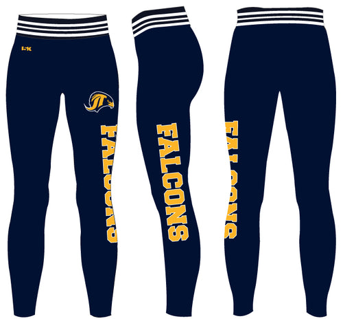 Falcons Cheer Sublimated Ladies Legging