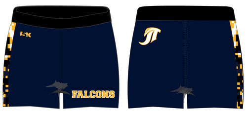 Falcons Cheer Sublimated Shorts - Camo