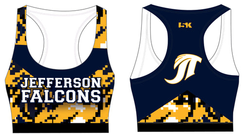 Falcons Cheer Sublimated Sports Bra - Camo