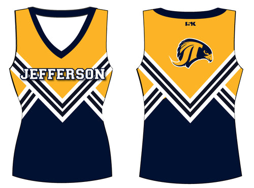 Falcons Cheer Sublimated Cheer Vest