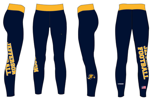 Jefferson Football Ladies' Full Length Sublimated Legging