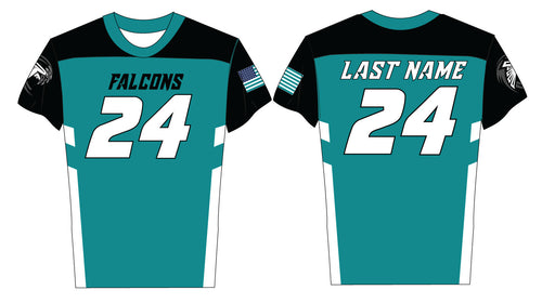 Jensen Beach Falcons Flag-Football Sublimated Jersey