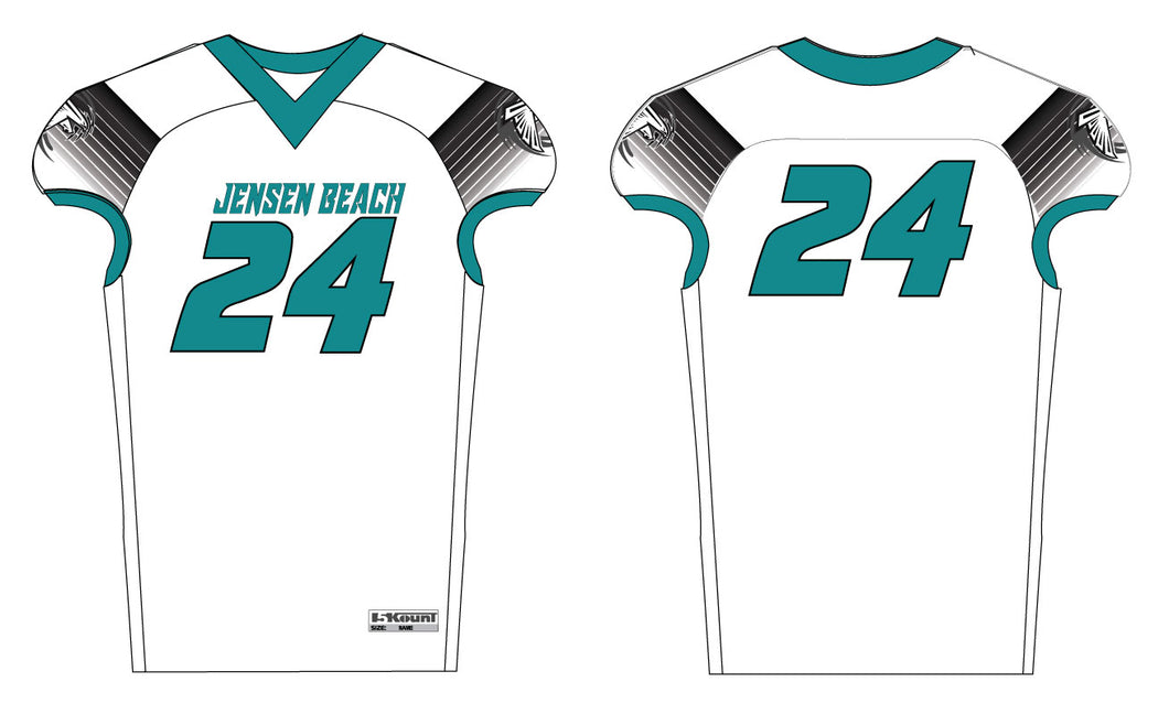 Jensen Beach Falcons Football Sublimated Jersey - 5KounT2018