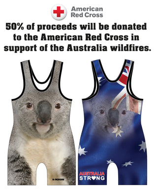 Australia Strong Collection Sublimated Singlet
