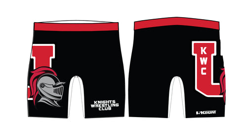 Union Knights Wrestling 2017 Sublimated Compression Shorts - 5KounT2018