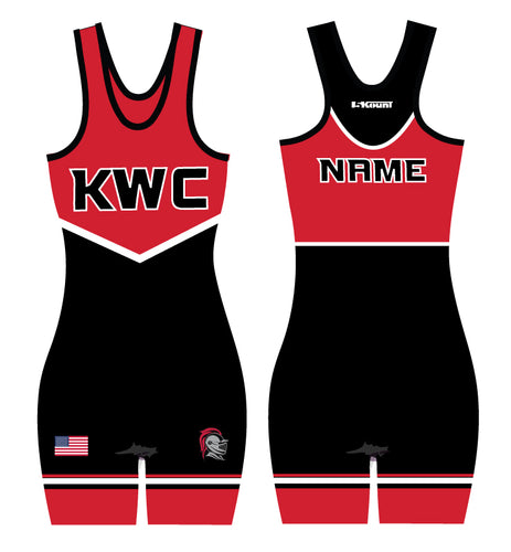 Union Knights Wrestling Sublimated Singlet Women - 5KounT2018