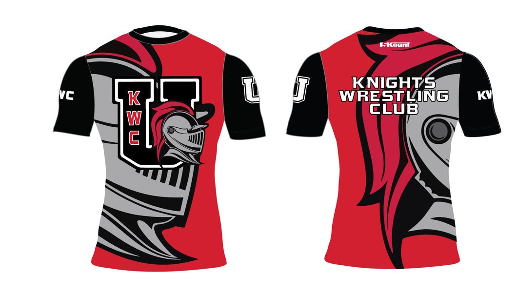 Union Knights Wrestling 2017 Sublimated Compression Shirt - 5KounT