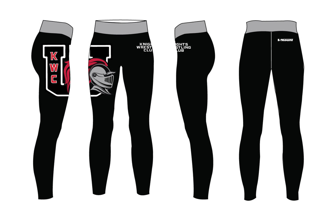 Union Knights Wrestling 2017 Sublimated Ladies Legging