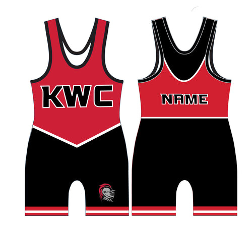 Union Knights Wrestling 2017 Sublimated Singlet - 5KounT2018