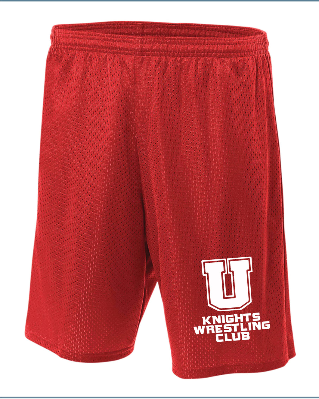Union Knights Wrestling 2017 Tech Shorts
