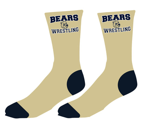 Brearley Wrestling Sublimated Socks - 5KounT2018