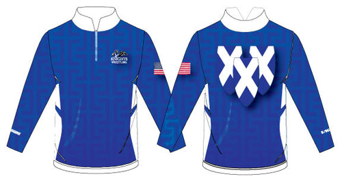 Knights Sublimated Quarter Zip