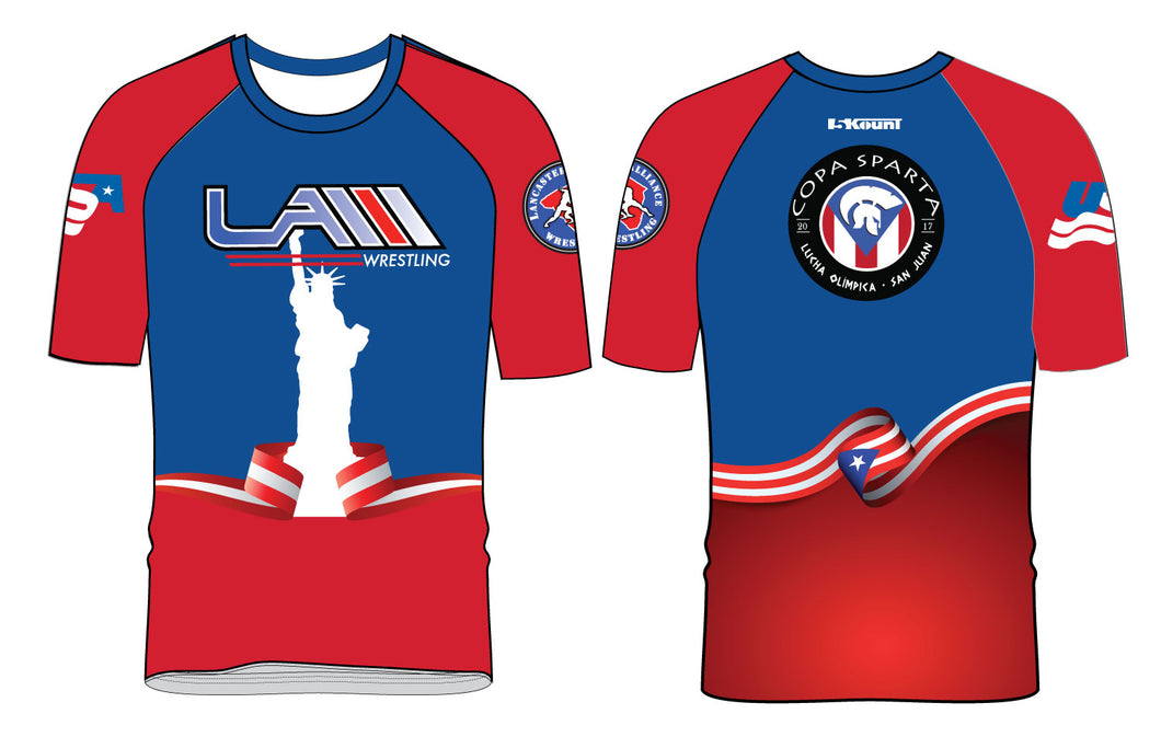 LAW COPA SPARTA Sublimated Fight Shirt - 5KounT2018