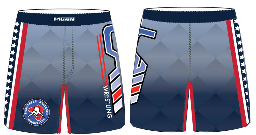 LAW Sublimated Fight Shorts - 5KounT2018