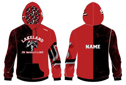 Lakeland Wrestling Sublimated Hoodie 2016 - 5KounT2018