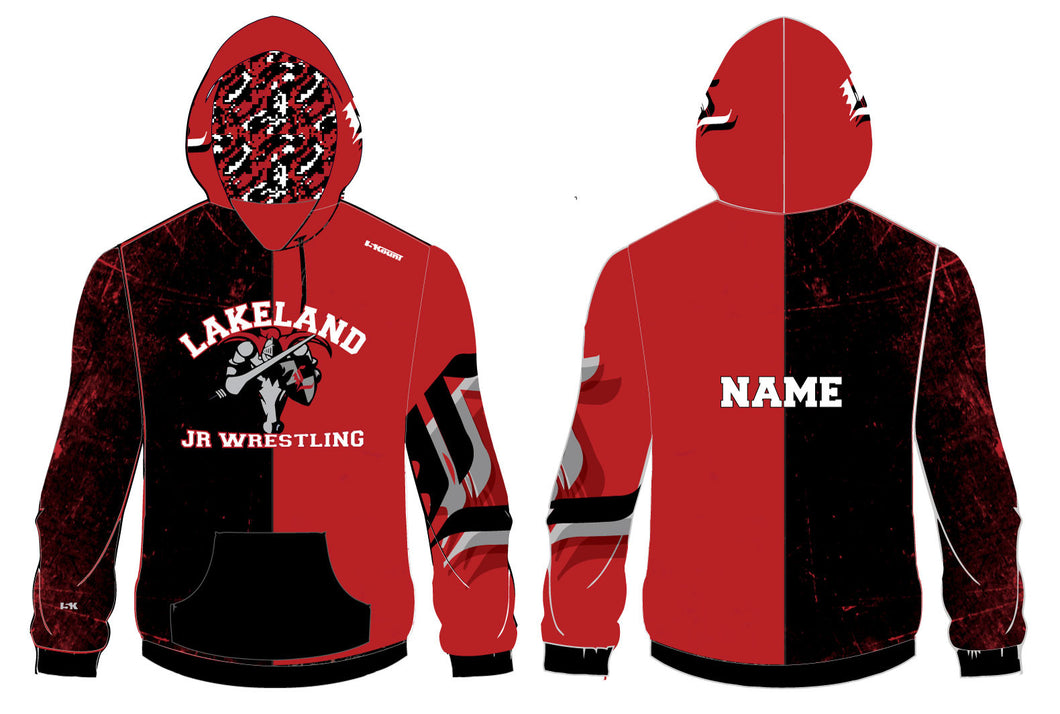 Lakeland Wrestling Sublimated Hoodie