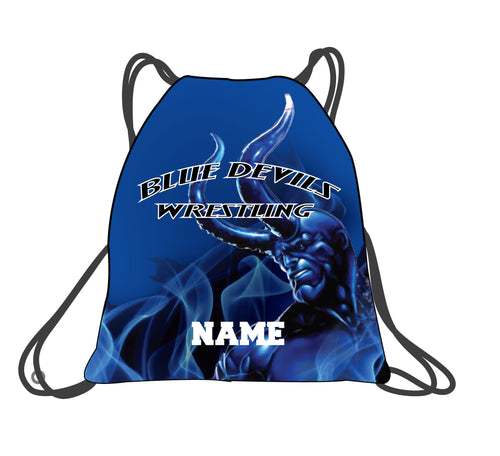 Lawton Wrestling Sublimated Drawstring Bag - 5KounT2018
