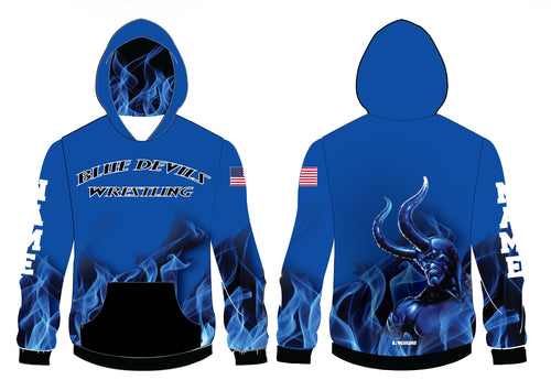 Lawton Wrestling Sublimated Hoodie - 5KounT2018