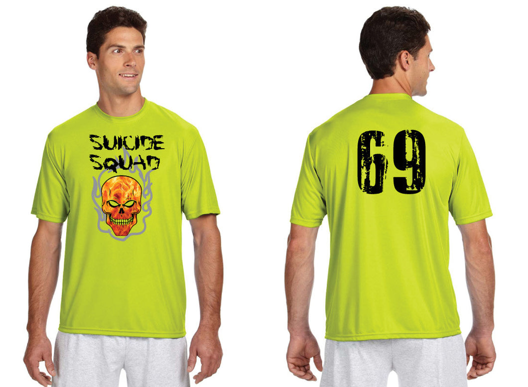 LeoniaPP Softball DryFit Performance Shirt - Suicide Squad