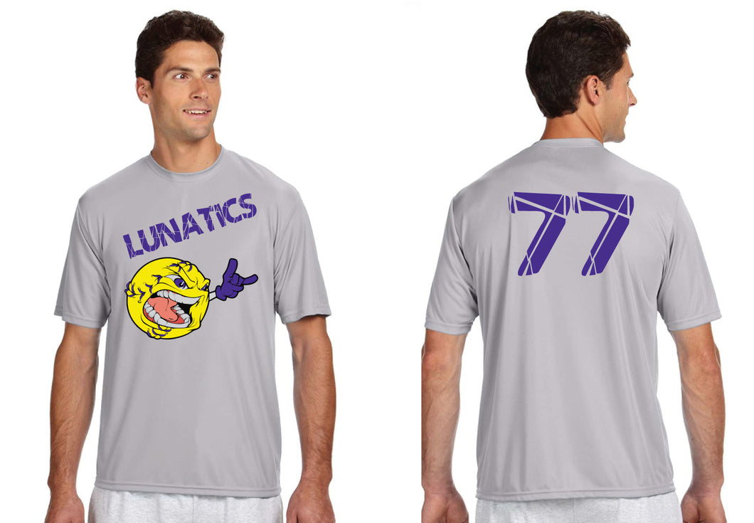 LeoniaPP Softball DryFit Performance Shirt - Lunatics