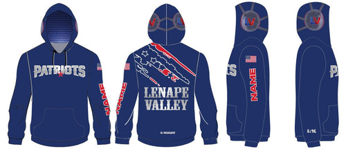 LV Wrestling Sublimated Hoodie