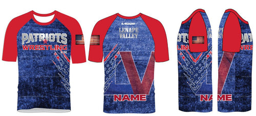 LV Wrestling Sublimated Fight Shirt