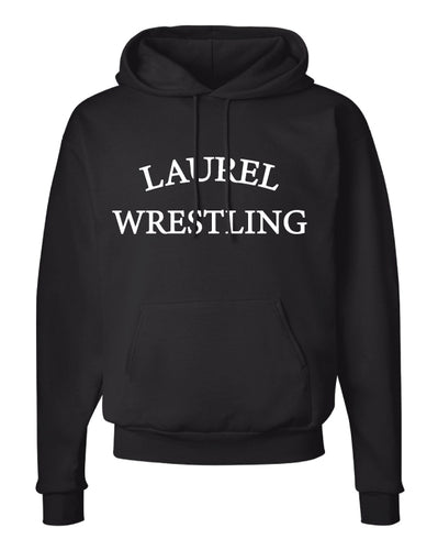 Laurel Bulldogs Cotton Hoodie - Black