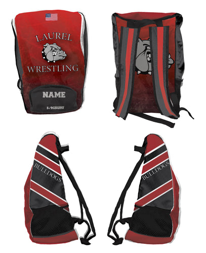 Laurel Bulldogs Sublimated Backpack