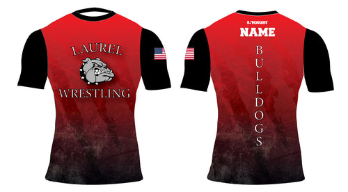 Laurel Bulldogs Sublimated Compression Shirt